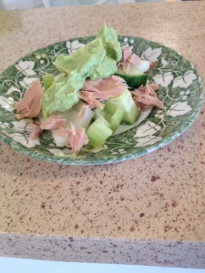 photo - tuna salad avocado dressing